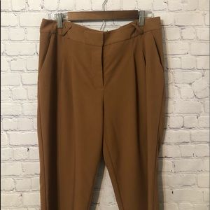Forever 21 pleated front trousers